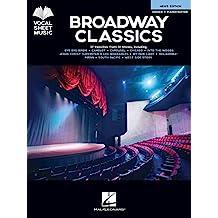 Broadway Classics - Men's Edition: Vocal Sheet Music (English Edition)