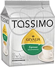 Tassimo Gevalia 无咖啡因的咖啡T Discs 胶囊,美味的无咖啡因咖啡,适合日常工作,用于TASSIMO咖啡机,16个装