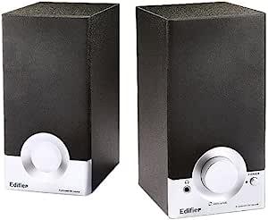 Edifier 漫步者 R18T 2.0声道 木质多媒体音箱 黑色