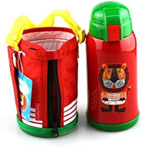 Tiger虎牌 不锈钢儿童真空杯MML-C06C-EL小狮子630ML