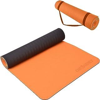 chebeenly 瑜伽垫锻炼健身垫 - 女士瑜伽垫 6 毫米防滑专业健身垫 适用于普拉提