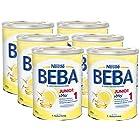 Nestlé 雀巢 BEBA贝巴 Junior 1段婴幼儿奶粉800g×6罐装 ¥497
