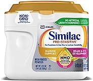 Similac 雅培 Pro-Sensitive 婴儿配方奶粉,含 2'-FL 寡糖 (HMO),22.5 盎司(6