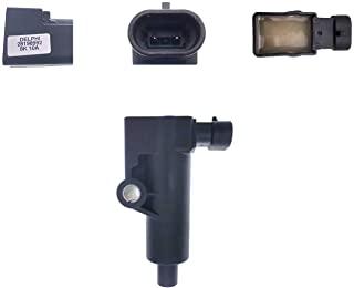 PARTSRUN 线圈高性能点火模块替换件 Delphi 28198992 EFI 400cc-800cc 适用于 HiSun 33110-178-000 UTV ATV VMC 中国零件 550cc 800cc 1000cc Massimo、...