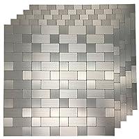 art3d 即剥即贴金属马赛克瓷砖