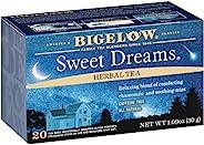 Bigelow Tea 甜梦花草茶,不含咖啡因,热茶或冰茶均可,20袋×6包,共120袋