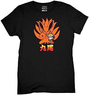 Ripple Junction Naruto - Shippuden Naruto Kurama Nine Tails Chibi 青少年 T 恤