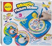 美国ALEX品牌早教益智玩具神奇画板写字板图形图像套装