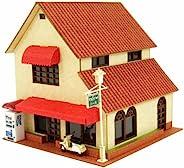 Sankei 1/150 立体模型系列 咖啡馆B MP03-94 纸手工