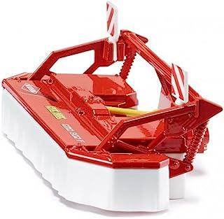SIKU 2461,牛头割草机,1:32,金属/塑料,红色/白色,适用于所有带前离合器的SIKU拖拉机