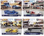 "MATTEL 美泰 Hot Wheels 风火轮 Team Transport 2020 MIX2 混合装 4件套 盒装 福特 Mustang ""69"" Boss 302&RETRO"