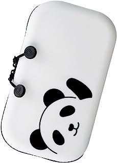 LIHITLAB PuniLabo 拉链袋,7.5 英寸 × 1.5 英寸(约 19.0 厘米 × 3.8 厘米),熊猫(A7716-6)