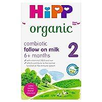 HiPP 喜寶 Organic 2 有機成長牛奶,適合6個月以上嬰兒,800克,4罐裝