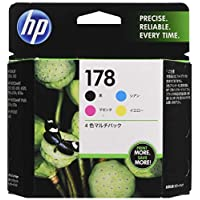 HP 原裝 墨盒 HP178 4色多用途包CR281AA 普通版 Pack 1