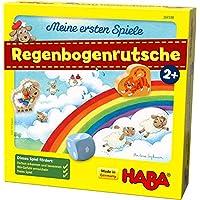 HABA 304188 Meine ersten Spiele 彩虹滑梯 合作游戲 適合2歲以上兒童 促進顏色和數字認知