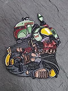 Chameleon Legion Bounty Hunter Club #6 刺绣贴片