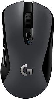 LOGICOOL 罗技 游戏鼠标 无线G603 黑色 LIGHTSPEED 无线蓝牙已启用 游戏鼠标 HERO传感器