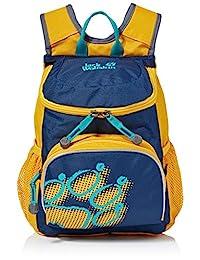 Jack Wolfskin 中性款青年小喬日背包 適用于幼兒園