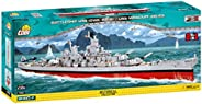 COBI 4812 小型军舰玩具-多种,WS IOWA CLASS USS MIS构造块