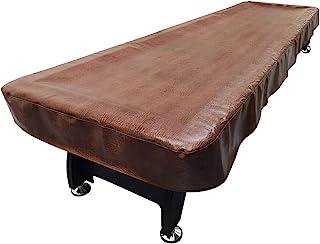 Lucky Monet 9/12/14/16 英尺 PU 皮革重型洗牌桌布