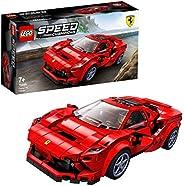 LEGO 76895 Speed Champions 法拉利 F8 Tributo Racer 玩具帶賽車司機迷你人偶,賽車搭建套裝
