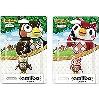 amiibo 2 件装套装 [Blathers/Celeste](动物交叉系列)适用于 Nintendo Switch…