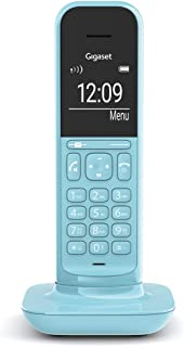Gigaset CL390HX IP 电话与Fritzbox 兼容 1 CL390HX Design-Telefon zur Router Verbindung, Purist Blue