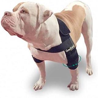 Ortocanis 护肘,适用于肘部*、湿肿或肩部脱位的狗狗 - 适合所有品种 - 黑色 - XL 码