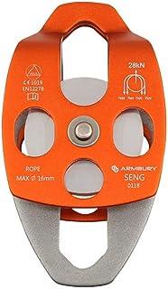 SGT KNOTS 臂带滑轮 - 登山,攀岩 - 不锈钢,用于运输,救援,阻挡和拖把