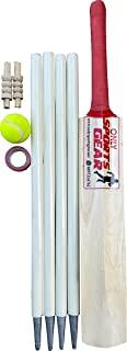 儿童木制板球套装包括蝙蝠球棒棒棒胶带和手提袋