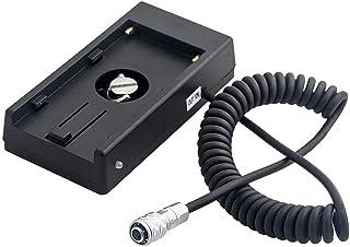 Foto4easy 电源适配器板适用于 NP-F970 电池至 Blackmagic Pocket Cinema 相机 4K BMPCC 4K 相机,与索尼 NP-F970 F960 F770 F750 F570 F550 F550 电池