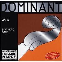 Thomastik 小提琴 4/4 Dominant 单弦 - E 弦钢坯,柔软,球端