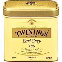 Twinings 川寧 倫敦伯爵茶松散茶罐,3.53盎司(6包),100克