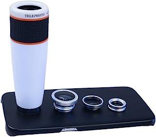 Apexel 12X85B 38-380mm f/5.6-15 固定 Prime 相机镜头12X85W-S7  S7 白色/银色