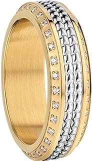 BERING 女式戒指组合 - 北京可互换混合搭配戒指,来自北极交响乐系列。丹麦设计。