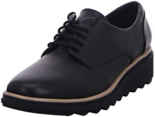 Clarks 女士 Sharon Noel 德比鞋