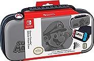 RDS Industries 官方*任天堂交换机*马里奥 - 豪华豪华保护壳 - Deboss Grey - Nintendo Switch