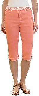 Gloria Vanderbilt 女士 Lillian 腰带七分裤