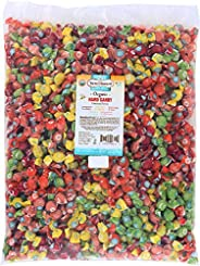 Torie and Howard 散装硬糖,五种不同口味,5磅/2.27千克袋装