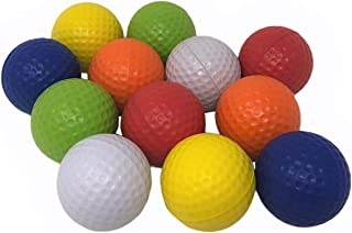 Pandy's Toy Box 泡沫练习高尔夫球 - 彩色软高尔夫球