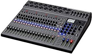 Zoom LiveTrak L-20-20 输入数字混音器,超细纤维,1 年 EverythingMusic 延长保修