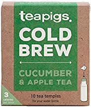 teapigs Cucumber & Apple Cold Brew Made With Whole Leaves (6 Packs of 10 Tea B