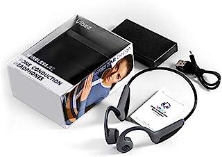 Vibez 露耳无线骨传导耳机 | 无线蓝牙 5.0 连接 | 耐汗运动耳机VBZ01 中 灰色