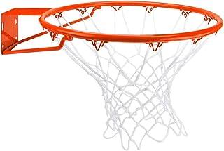 Crown 运动用品不锈钢篮球框附赠全天候网,标准/45.72 厘米,橙色