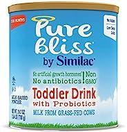 Similac 雅培 Pure Bliss 幼儿奶粉,来自草饲奶牛的新鲜牛奶,Non-GMO,24.7 盎司/700克,6罐装