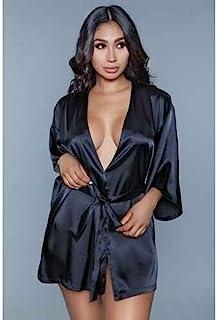 Be Wicked Amora 和服带心形图案 - 黑色,126 克