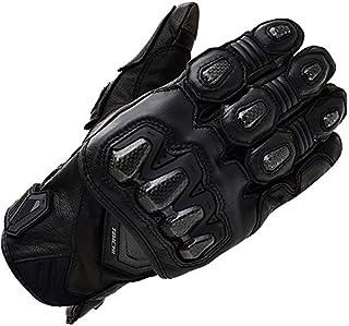 RS TAICHI 摩托车手套 黑色 (M) 高保护 皮革手套 RST422