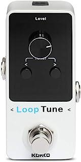 KOKKO Looper 吉他踏板效果迷你环踏板环 9 环 40 分钟记录时间 彩色 LED 显示屏