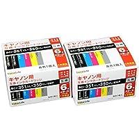 佳能 互換墨盒 Canon 佳能 BCI-351+350/6MP 6包×2 優惠套裝 Luna Life LN CA350+351/6P*2PCS