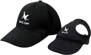 Ayunjia 狗帽,宠物棒球帽运动帽狗妈妈/爸爸家庭匹配棒球帽时尚可调节户外宠物亲子儿童帽黑色 2 种颜色(XL)